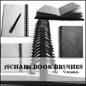 Ischarm_Book_Brushes_by_ischarm_stock