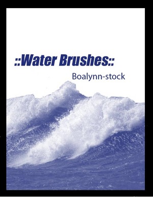 __Water_Brushes___by_Boalynn_Stock