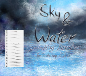 Sky_and_Water_painting_brushes_by_El_Chupacabras