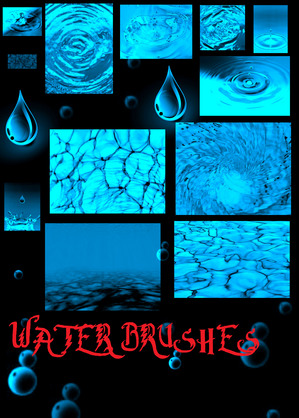 Water_Brushes_PS7_by_ShinigamiNoAkui