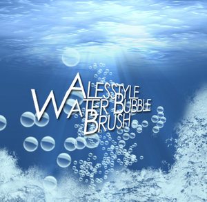 Alesstyle_Water_Bubble_Brush_by_TheAlessandro
