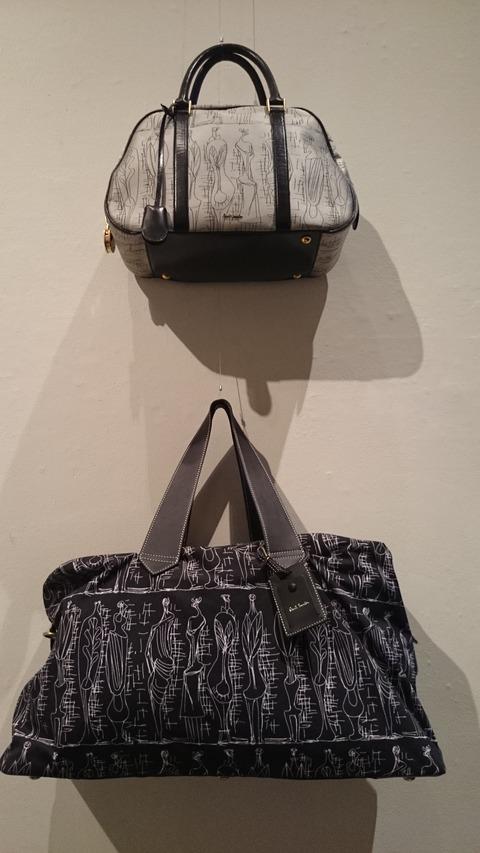 ポール・スミス展 上野の森美術館 コラボ バッグ