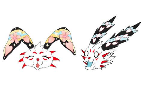 オリンピック マスコット 表情案 東京 2020 Tokyo mascot