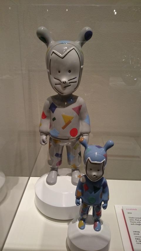 ポール・スミス展 上野の森美術館 コラボ01