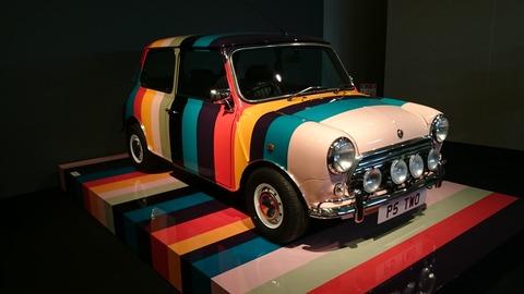 ポール・スミス展 上野の森美術館 デザイン 車