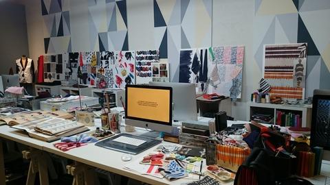 ポール・スミス展 上野の森美術館 オフィス アトリエ02