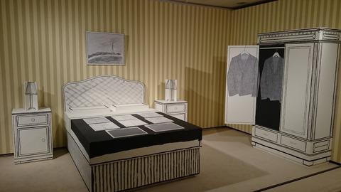 ポール・スミス展 上野の森美術館 ベッドルーム