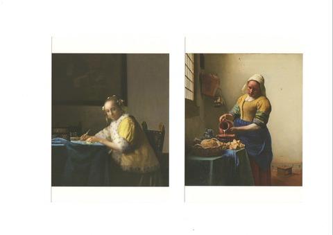 フェルメール展 2018 ポストカード01