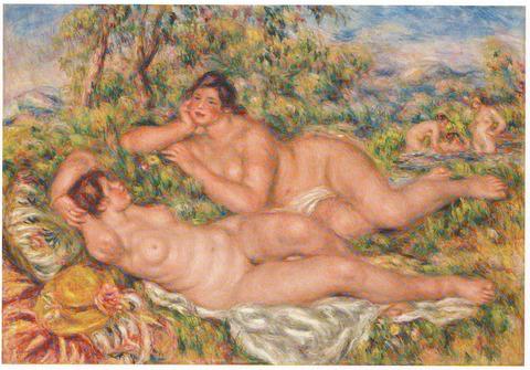 ルノワール展 浴女たち