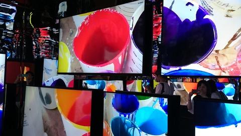 ポール・スミス展 上野の森美術館 展示風景02 鏡