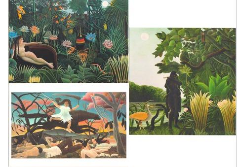 アンリ・ルソー展 2016 オルセー美術館 グッズ ポストカード