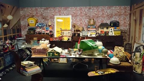 ポール・スミス展 上野の森美術館 オフィス アトリエ01