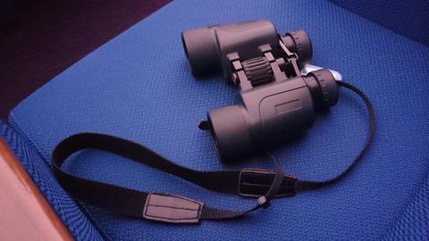 科学館の貸出用の双眼鏡