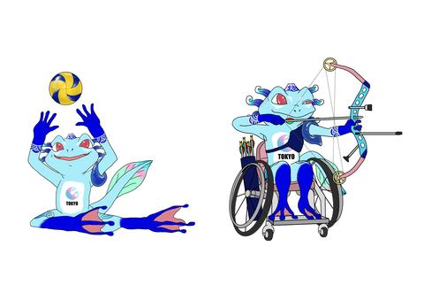 パラリンピック マスコット 競技別 東京 2020 Tokyo mascot