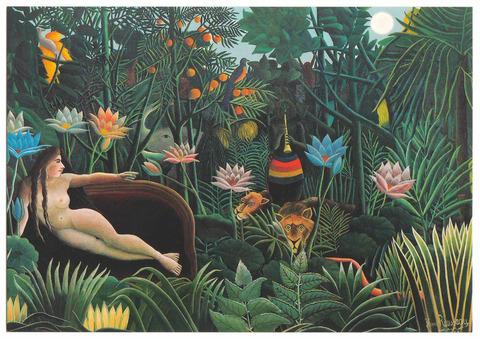 アンリ・ルソー展 2016 オルセー美術館 ポストカード 夢