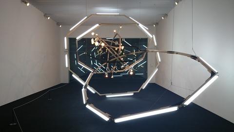 森美術館 宇宙と芸術展 ビョーン・ダーレム ブラックホール