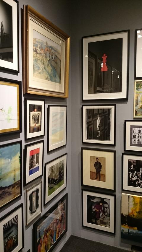 ポール・スミス展 上野の森美術館 アート・ウォール02