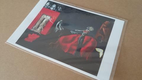 ダリ展 グッズ ポストカード 奇妙なものたち 国立新美術館