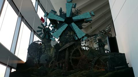ジブリの大博覧会 ラピュタ 空飛ぶ機械達展 風車