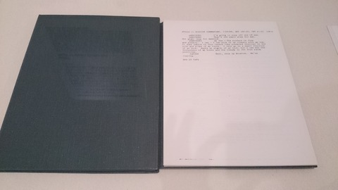 森美術館 宇宙と芸術展 アポロ11号任務記録