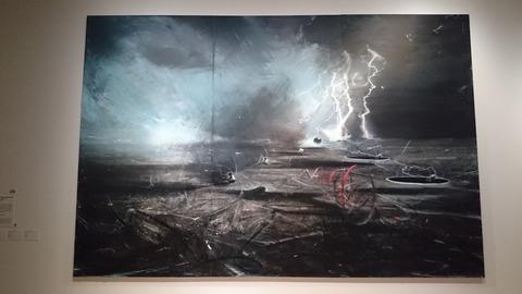 森美術館 宇宙と芸術展 ジア・アイリ 星屑からの隠遁者