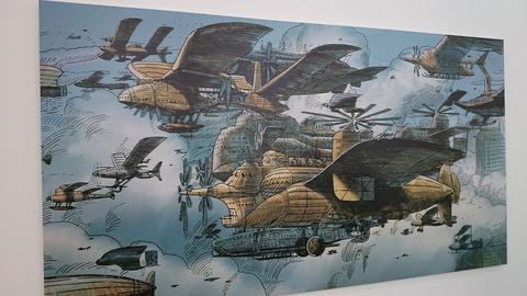 ジブリの大博覧会 ラピュタ 空飛ぶ機械達展 パネル2