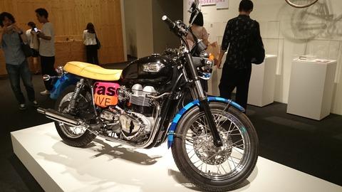 ポール・スミス展 上野の森美術館 バイク