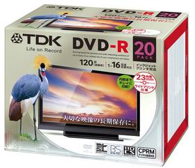 ビデオ用 DVD-R