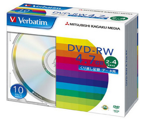 録画用DVD+RW