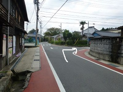 066 分岐(右折)