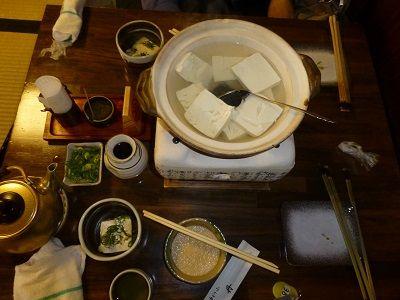066 湯豆腐セット