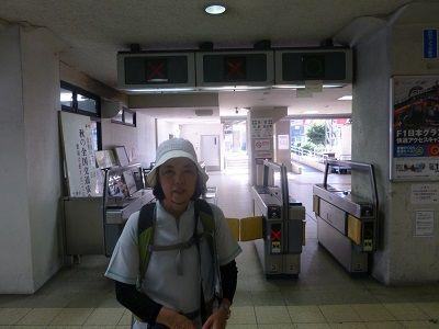 134 近鉄内部線・四日市駅改札