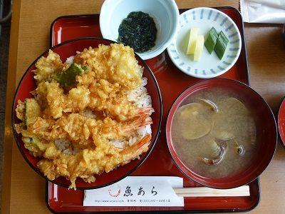 112 魚あら・活天丼