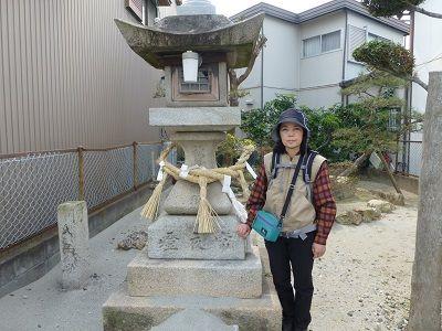 099 新町秋葉常夜燈(左)