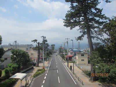 29 酒匂歩道橋からの風景