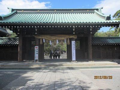 45 三島神社②(山門)