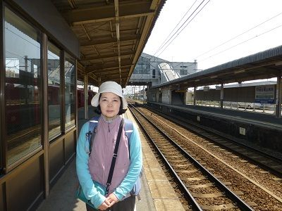 105 名鉄伊奈駅ホーム