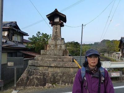 130 横田常夜燈(三雲側)