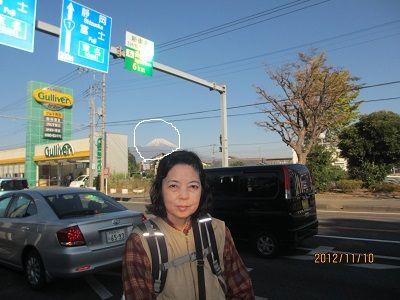 21 富士の眺望(柿田川湧水群附近)