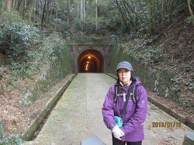 63 明治のトンネル入口