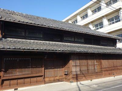 010 連子格子の旧家(三輪家)
