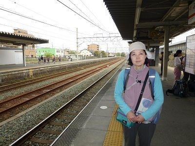 162 二川駅ホーム