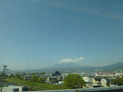 109 車窓からの富士山・新富士附近