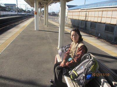 67 東田子の浦駅ホーム