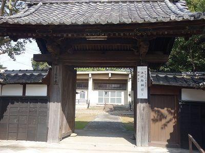 057 信力寺・山門