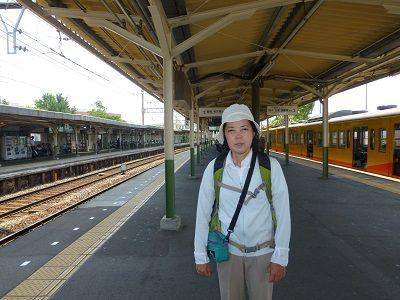 129 近鉄富田駅ホーム