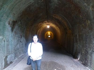 124 トンネル出口側