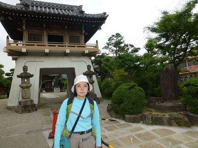 095 総持寺・山門(お万の方生誕の碑)
