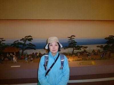 079 白須賀宿模型(館内)