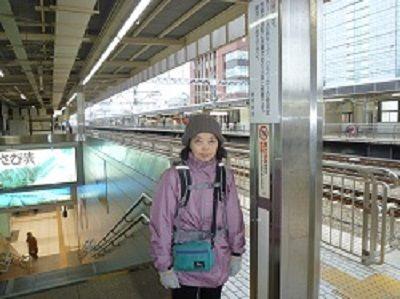 30-① 静岡駅ホーム